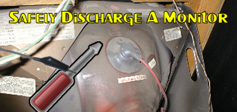 Safely Discharge A Monitor