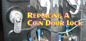 Replacing A Coin Door Lock