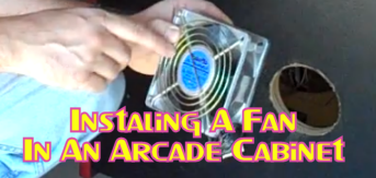 Installing A Fan In An Arcade Cabinet
