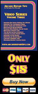 Arcade Repair Tips Video Series - Volume 3 (DVD) - Buy Now!