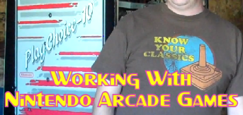 Working With Nintendo Arcade Games
