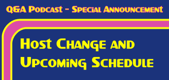 QA Podcast - Special Announcement