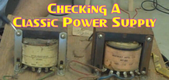 Checking A Classic Power Supply