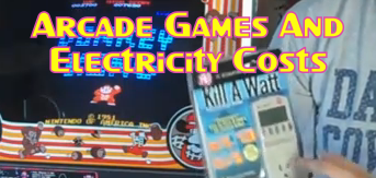 Arcade Games And Electricity Costs