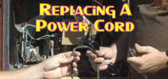Replacing A Power Cord