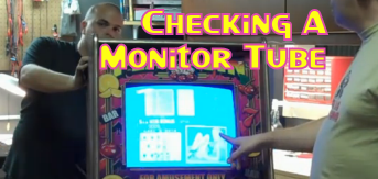 Checking A Monitor Tube