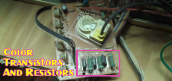Color Transistors And Resistors