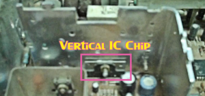 Vertical IC Chip On The Chassis