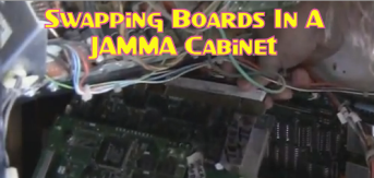 Swapping Boards In A JAMMA Cabinet