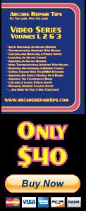 Arcade Repair Tips Video Series - Volumes 1, 2 & 3 (DVD) - Buy Now!