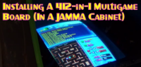 Installing A 412-in-1 Multigame Board (In A JAMMA Cabinet)