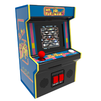 Ms. Pac-Man (with board issue)