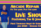 Live Show - Episode 53 - Boards, Fire Hazards, and LCDs From The 80s